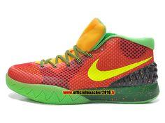 wholesale dealer c0d40 c9eaf Officiel Nike Kyrie 1 BHM Chaussures Nike Basket-ball Pas Cher Pour Homme  Orange -