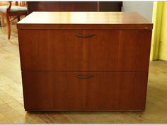 Lateral File Cabinets Wood Two Drawer