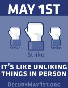 May 1st General Strike    May Day  #MayDay
