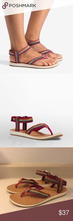 c393bc7849c8 ❤SALE❤NWT Teva Rainbow Ombré Sandals Enjoy these NWT Teva sandals with  rainbow ombré