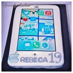 Tarta iphone