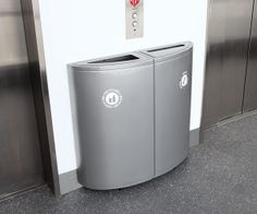 Sotare Waste Receptacles.  1/4 unit = $760.  Total for pictured unit = $1520