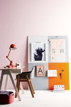 Nail free decorating with pretty pegboard. Poppytalk: Sneak Peek | Inside Out Magazine - February '16 Issue