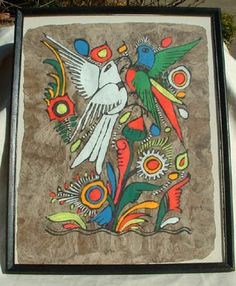 Mexican Art - Bark Painting