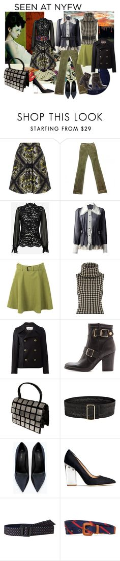 """""""#NYFW 2015 EYE ON COLOR"""" by dawn-lindenberg ❤ liked on Polyvore featuring Temperley London, Galliano, Alexis, Meadham Kirchhoff, Noa Noa, Yves Saint Laurent, Kurt Geiger, Linea Pelle, Zara and H&M"""