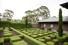 Stonefields, Victoria. Paul Bangay is one of Australia's most high profile landscape designers.