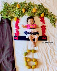 Likes, 5 Comments - Kidz India Monthly Baby Photos, Newborn Baby Photos, Baby Girl Newborn, Monthly Pictures, Mother Baby Photography, Newborn Baby Photography, Baby Girl Pictures, Baby Girl Images, Baby Month By Month
