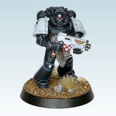 Alright kids, it's Templar time. Over the coming week, I'm going to roll out the squad one by one, followed by a blog post with more photos and more words. Stay tuned. #gamesworkshop #warhammer40k #miniaturepainting #spacemarines