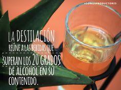 La destilación reúne a las bebidas que superan los 20 grados de alcohol en su contenido. SAGARPA SAGARPAMX #SomosProductores