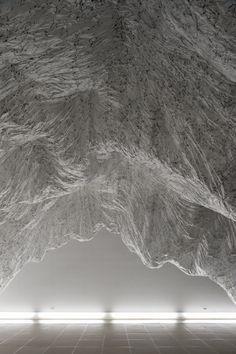 Yasuaki Onishi, Reverse of Volume RG, Aomori Contemporary Art Centre, Aomori Japan, 2009