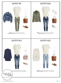 The Stay At Home Mom Capsule Wardrobe: Spring 2019 Collection Transform your closet with this Spring wardrobe! Better than Stitchfix, you purchase the pieces you need and you have a complete wardrobe, including 100 outfit ideas! Capsule Wardrobe Mom, Mom Wardrobe, Fall Wardrobe, Mom Outfits, Spring Outfits, Summer Minimalist, Classy Yet Trendy, Dressing, Minimalist Wardrobe