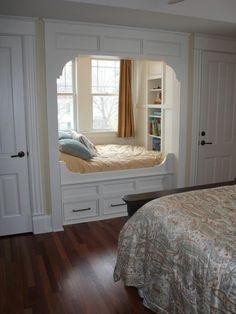 57 Simple Bedroom Design Ideas That On A Budget But Still Cozy Design . - 57 Simple Bedroom Design Ideas That On A Budget But Still Cozy Design # - Alcove Bed, Bed Nook, Bedroom Alcove, Cozy Nook, Bedroom Bed, Extra Bedroom, Ikea Bedroom, Couple Bedroom, Bedroom Curtains