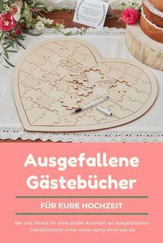 Wunderschöne ausgefallene Gästebücher findet Ihr bei uns im Shop. Ein Gästebuch ist auch ein tolles Geschenk von den Trauzeugen.