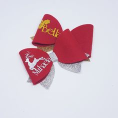 Personalised Christmas Bella Big Bow