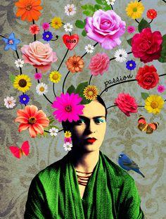 Arte FRIDA PASSION Artista Ana Paula Hoppe