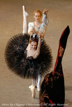 """Swan Lake"" Ulyana Lopatkina as Odile the Black swan"