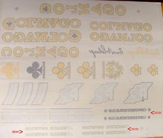 colnago mexico decal