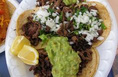 Carne asada, or Mexican grilled steak, is a favorite summertime meal.  Marinated in citrus juices, the thinly sliced flank or skirt steak is delicious served in tacos or burritos.  You can also enjoy the steak on its own with a side of rice and