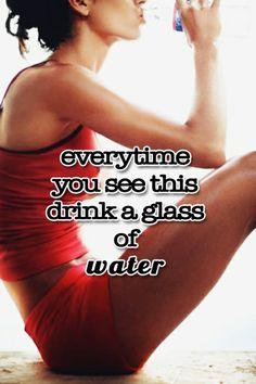 Trucos para beber más agua. Tricks to drink more water