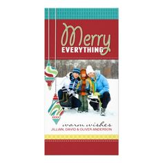 Fun Whimsical Christmas Photo Card  #holiday cards #Christmas cards #photo cards   Click on photo to purchase. Check out all current coupon offers and save! http://www.zazzle.com/coupons?rf=238785193994622463&tc=pin