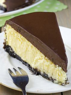 Crazy for cheesecake? Well then you have to try this Baileys Irish Cream Cheesecake! Featuring a chocolate cookie crust, creamy Baileys Irish Cream Cheesecake filling,…View Post Baileys Cheesecake, Chocolate Cheesecake, Chocolate Desserts, Cheesecake Recipes, Dessert Recipes, Chocolate Ganache, Baileys Cake, Baking Chocolate, Recipes Dinner