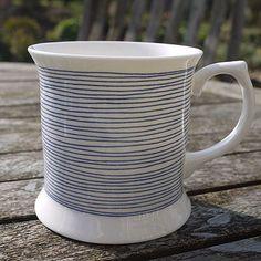 Bone China Cotton Reel Cup