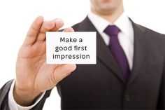 ♂ Men Must Know: How to Make a First Impression