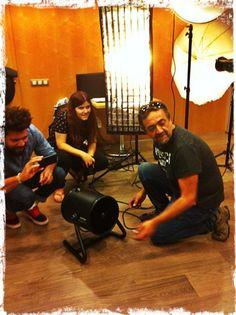 Taller Pentax & Bowens con Diego Espada y Foto K. Preparando... Workshop, Amp, Portraits, Fotografia, Atelier