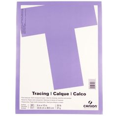 <div>This value tracing paper is fine-textured and semi-transparent. Ideal for drawings, sketche...