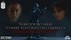 Fear can make you kind.