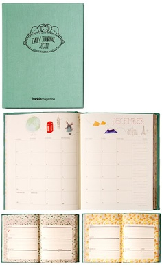 frankie daily journal. maybe i could be more organized after all!