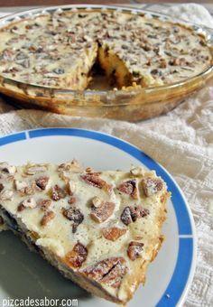 Cheesecake with walnut and date Pie Recipes, Mexican Food Recipes, Sweet Recipes, Baking Recipes, Dessert Recipes, Comida Israeli, Bolos Light, Dessert Chef, Sashimi