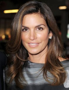 Cindy Crawford love her. Love her hair