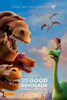 Pixar Post - For The Latest Pixar News: Australian 'The Good Dinosaur' Poster - A Sticky Situation For Arlo?  tags : disney pixar