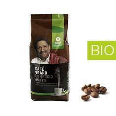 Café Natural BIO Grano 1 kilo Comercio Justo. http://eqshop.es/tienda/cafe-natural-bio-grano-1kilo/