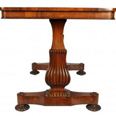 Antique Rosewood Library Table | Georgian Library Table