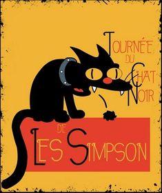 Le Chat Noir de Les Simpson