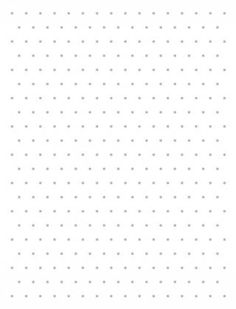 Grid Paper Isometric Dots