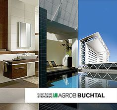 AGROB-BUCHTAL Germany - Source of Photocatalytic Oxidation coatings - they have an office in Alpharetta, GA Bathroom Lighting, Tools, Mirror, Architecture, Furniture, Home Decor, Stoneware, Bathroom Light Fittings, Arquitetura