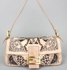FENDI-Mamma-Bucket-Python-Pink-Single-Strap-Shoulder-Bag-42716-free-shipping d547f13924f30
