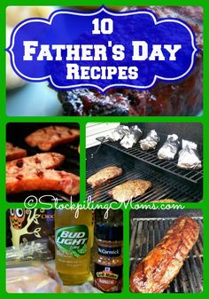 10 AMAZING Father's Day Recipes