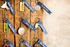 Souvenir key chains