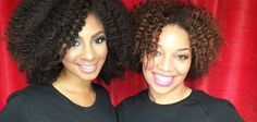 Natural chica and Mimi J - Twist out natural hairstyle galore.