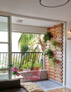 Beautiful Minimalist Living Room Ideas For Your Dream Home , - Balkon - Balcony Furniture Design Small Balcony Garden, Outdoor Decor, Apartment Garden, Balcony Furniture, Deck Furniture, Balcony Planters, Minimalist Living Room, Cool Apartments, Balcony Railing