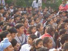 To lighten up the lives and hearts of the onlookers and to bring priceless smiles on the faces of students of Meenakshi Public School, sector 10 A Gurgaon, childhood was celebrated on Children's Day.