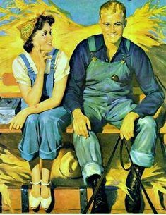 My Puzzles - 1950s-1970s Retro Cool - Farming Love