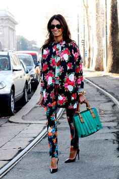 This is my most favorite outfit of the ones I have seen Viviana Volpicella wear. She's a pretty big deal