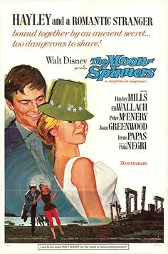 The Moon-Spinners (1964) Disney Movie Poster