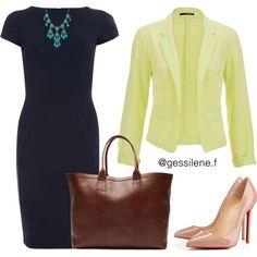 vestido tubinho by gessilene-ferreira on Polyvore featuring moda, Closet, maurices, Christian Louboutin and Alexa Starr