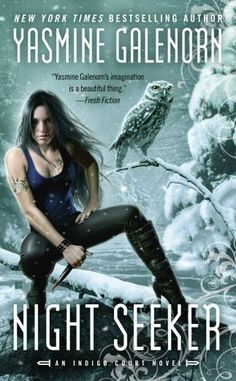 Best Animal Cover Nominee, Best Female Cover Nominee - Night Seeker by Yasmine Galenorn - Cover by Tony Mauro